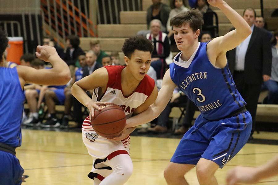 Boys' Basketball Loses To Catholic