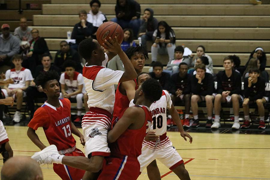 Boys' Basketball Defeated By Lafayette