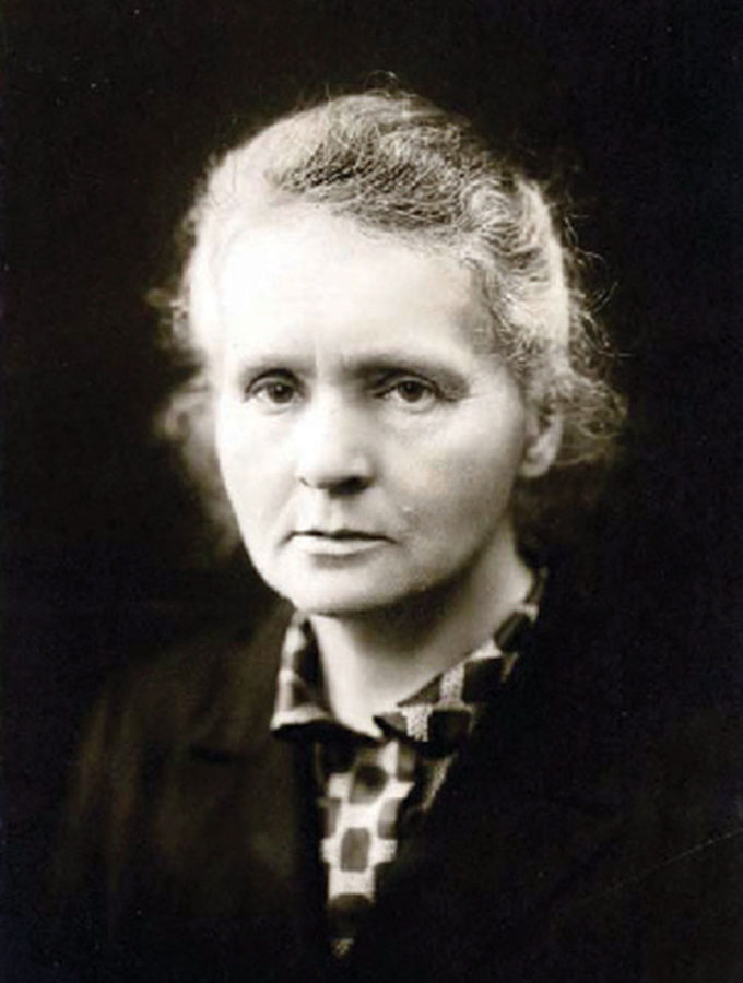 Marie Curie was a famous chemist, known for her work with radium and polonium.