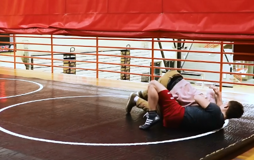 Sports Boys Practice with Dunbar Wrestling