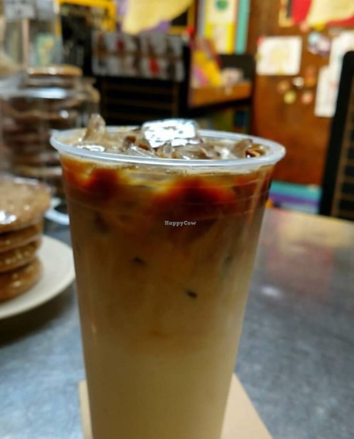 Third Street Stuff and Coffee offers a variety of hot and cold coffee and tea as well as sodas and other beverages.