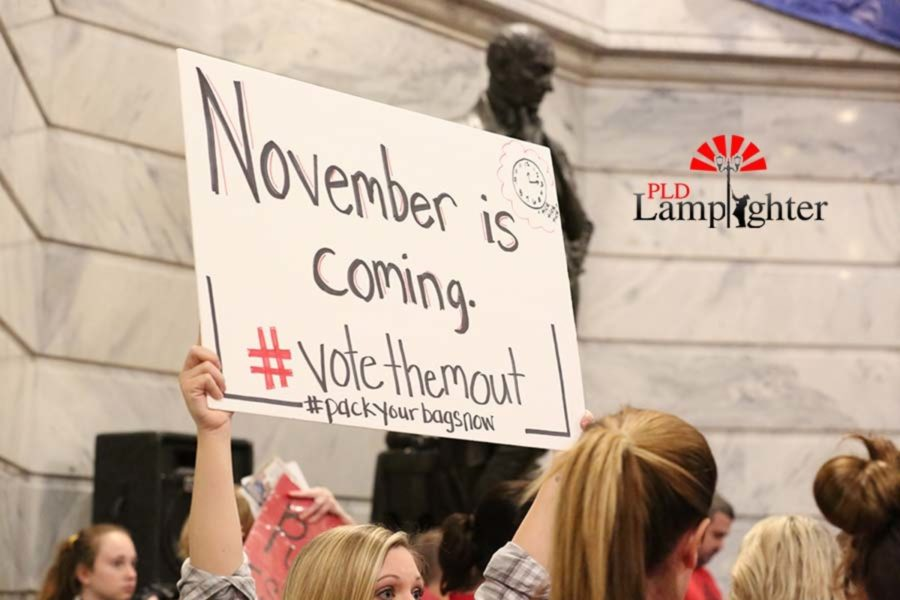 November is coming. #votethemout