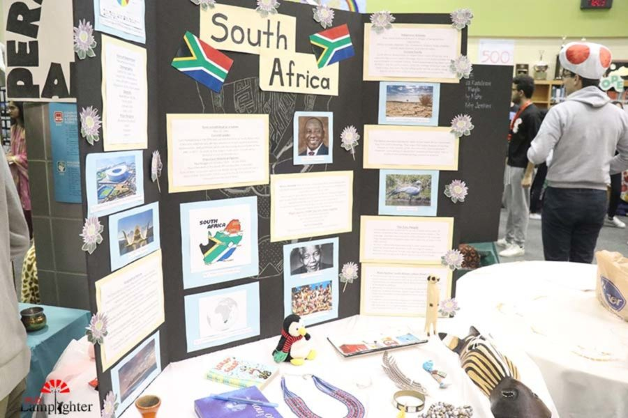 The country of South Africa welcomes students into the African continent area.
