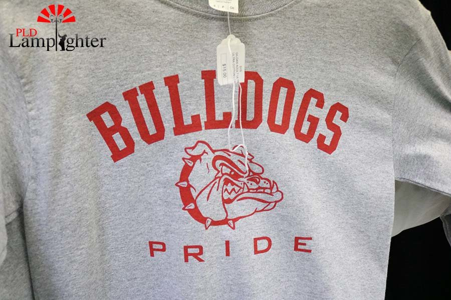 Students can buy Dunbar gear at the Booktique to show off their school pride.