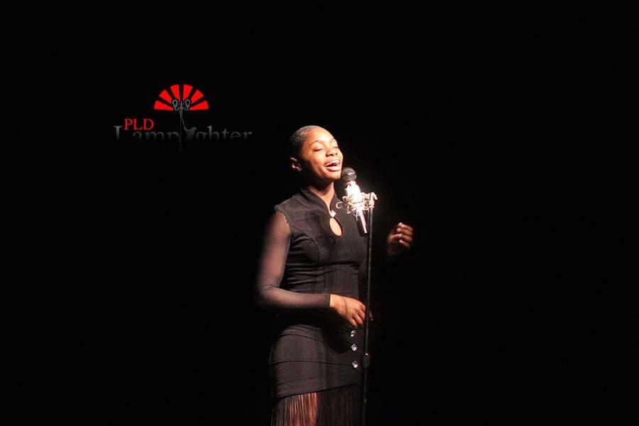 Kayla Pryer sings