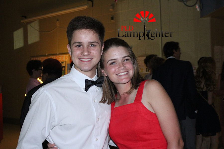 Kennedy Gayheart and her date have come to dance, laugh and have a good time.
