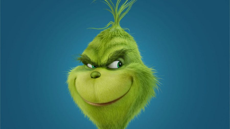 The newest Grinch animation.