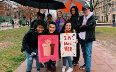 Dunbar Students Attend Women's March