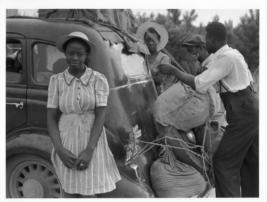 African Americans preparing for their journey.