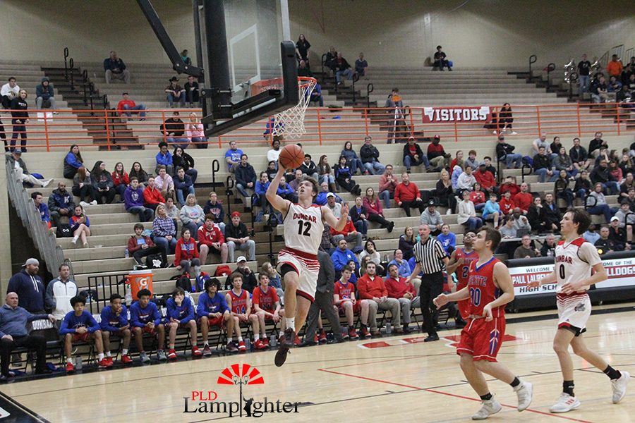 #12 Jared Gadd layups after being left wide open.