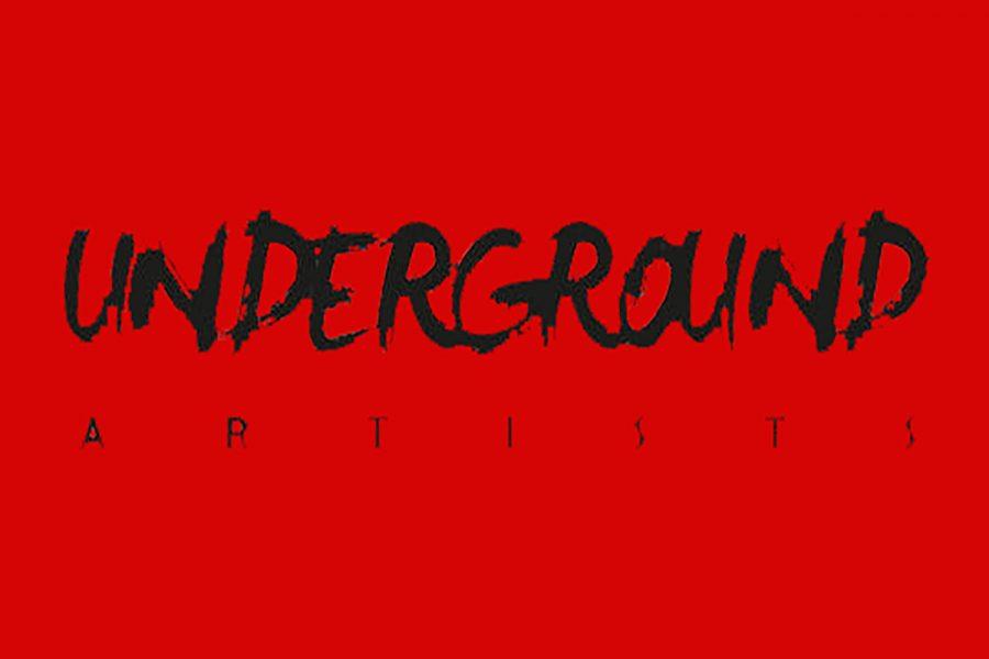 An underground artists logo.