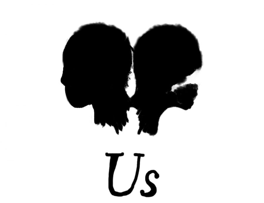 One of the 'Us' movie posters adapted by one of our cartoonist.