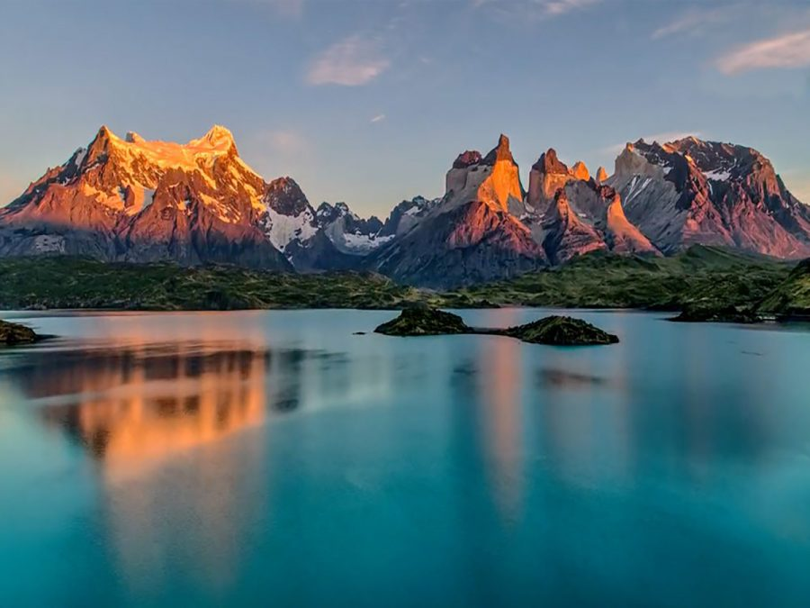 The Patagonia in Argentina.