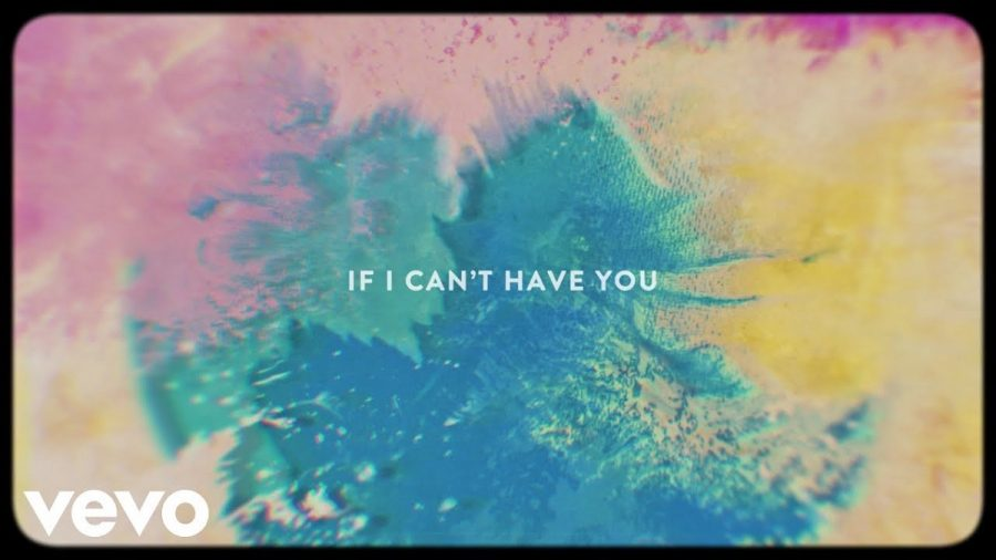 A screenshot from Shawn Mendes lyric video for his new single If I Cant Have You.