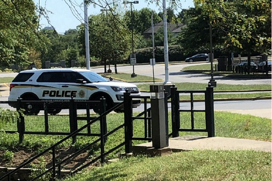 Dunbar security resource officers are on campus throughout the entire school say.