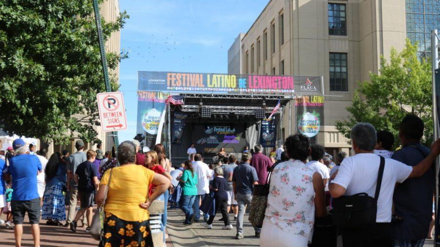 Festival Latino De Lexington featured arts, exhibitions, and vendors celebrating Hispanic culture.