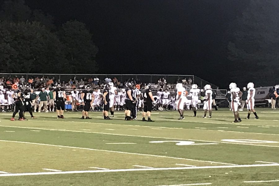 The full moon on Friday the 13th proved to be a bad omen for their match-up against FDHS