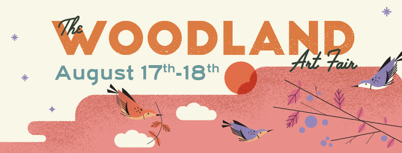The Woodland Art Fair is an exciting event to help small artists get publicity.