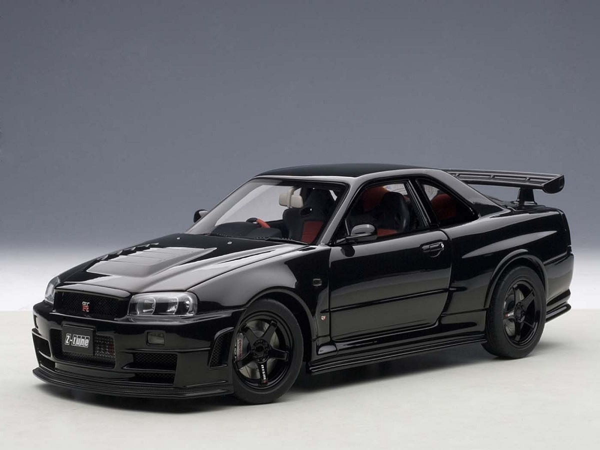 Staff Reporter JJ Johnson is obsessed with the Nissan Skyline GTR Black Edition car