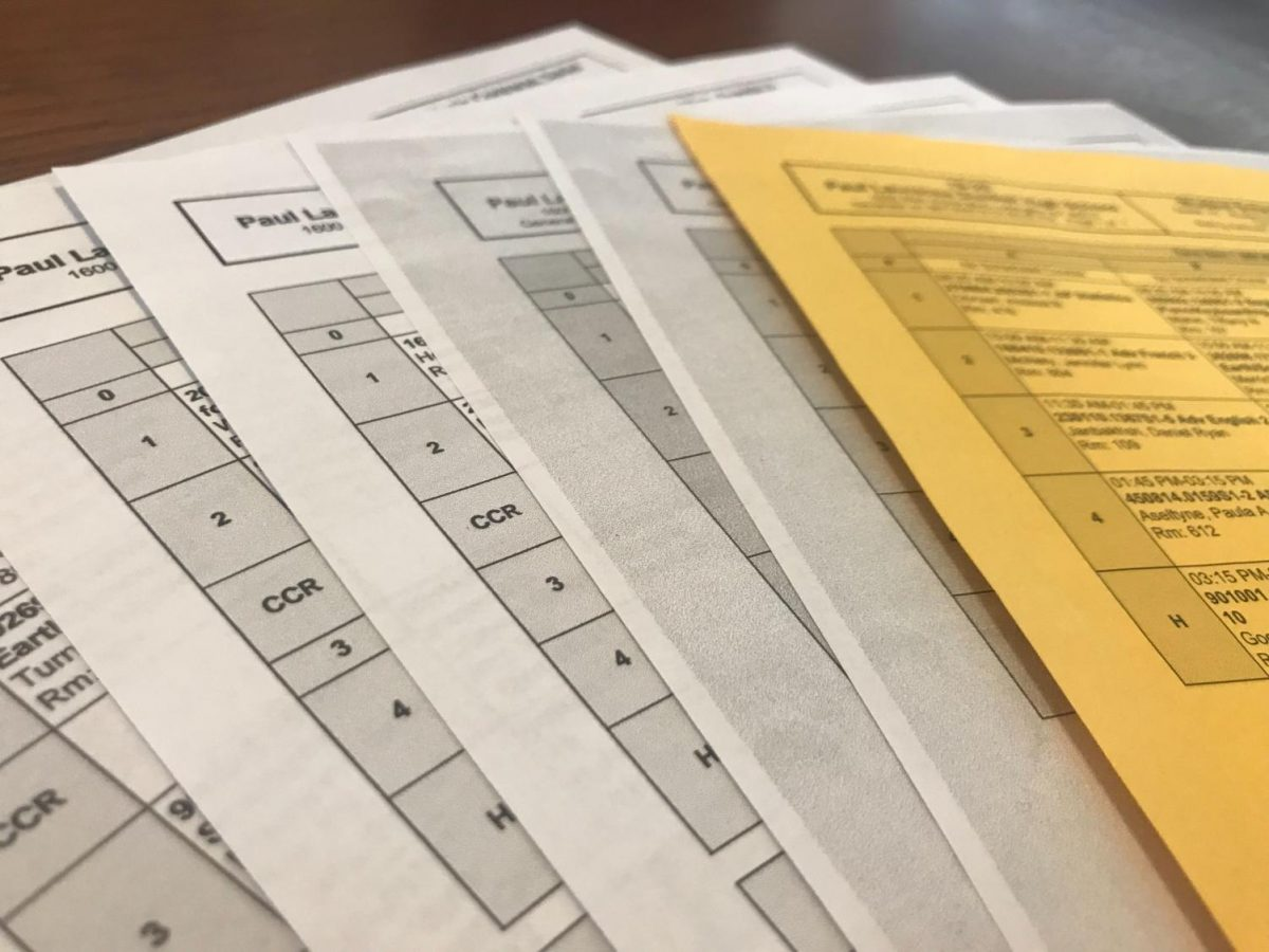 Around 500 students at Dunbar will be receiving new schedules on Sept. 17.