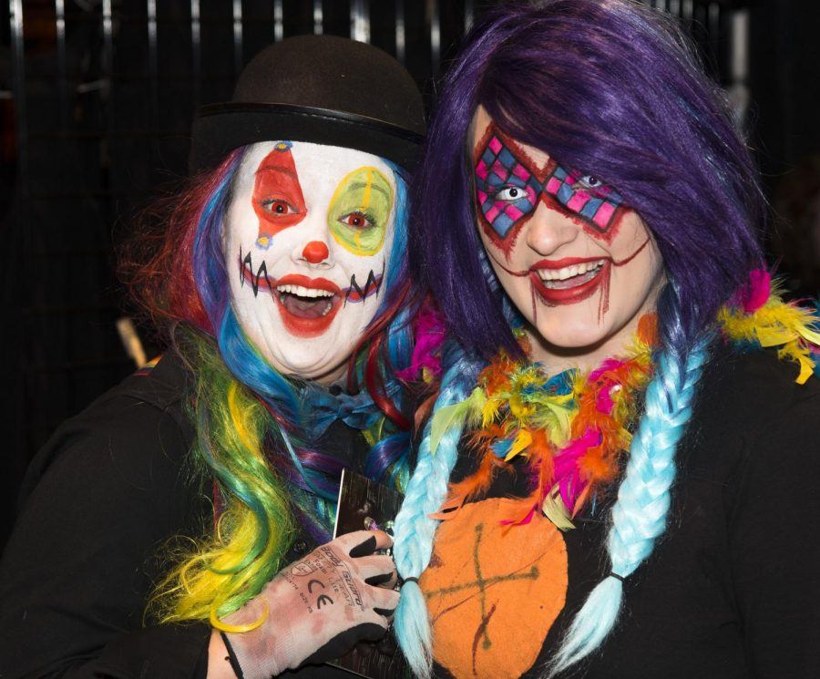 Lexington has a long tradition of Halloween activities including Scarefest.