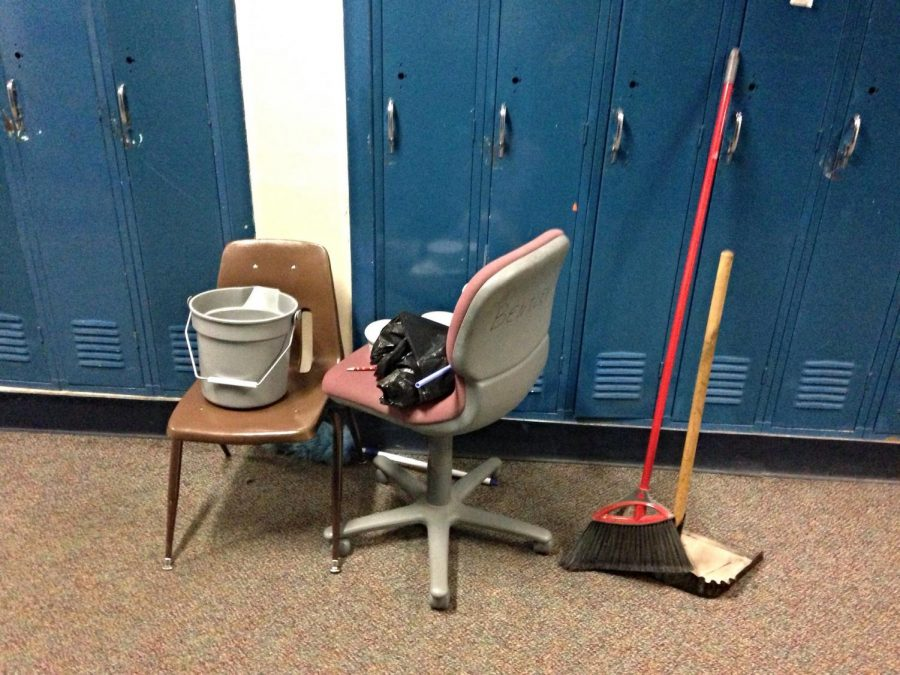 PLD Custodians spent the evening sanitizing classrooms after a confirmed case of whooping cough.