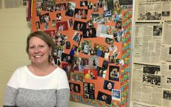 Mrs. Turner has a bulletin board of former students who now work as professional journalists.