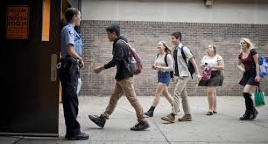 Lafayette high schools is hit with long lines caused by their new metal detectors.