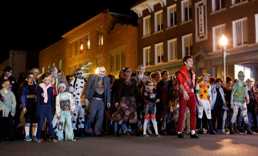 Participating in Lexington's annual Thriller parade is just one of the many ways to celebrate Halloween.
