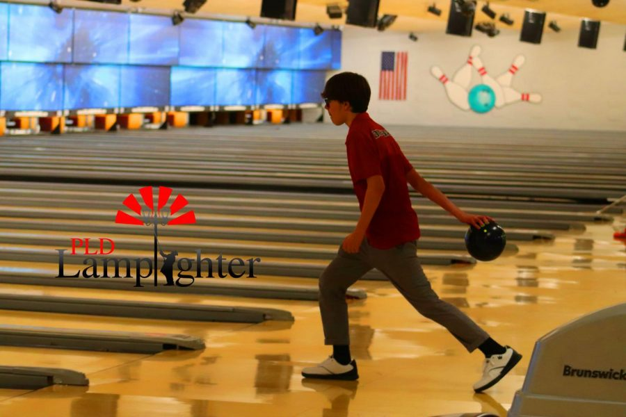 Sophomore Jacob Turner is in his first season as a bowler for the team.