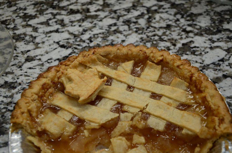 Pumpkin pie is a favorite fall treat