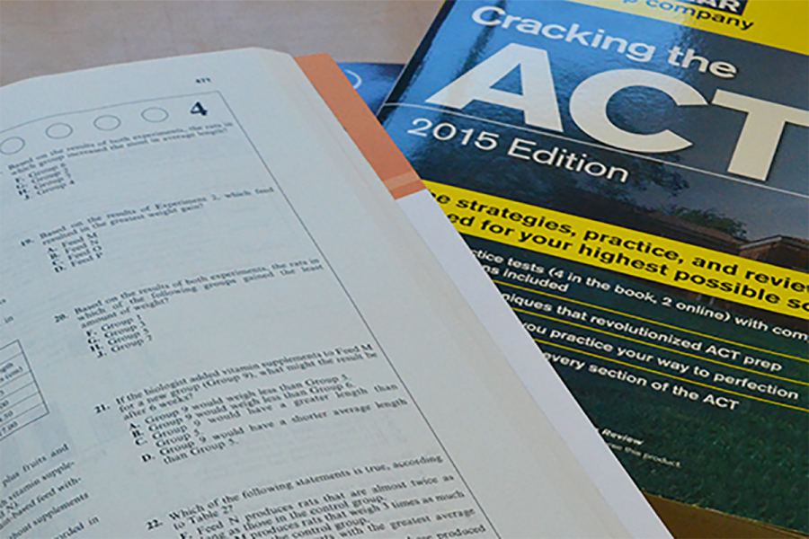 ACT practice booklets are commonly used by students in preparation for the exam.