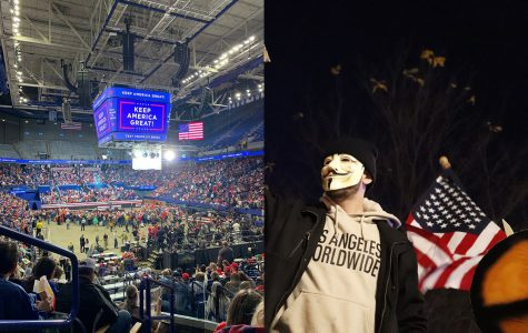 Two Sides of the Trump Rally