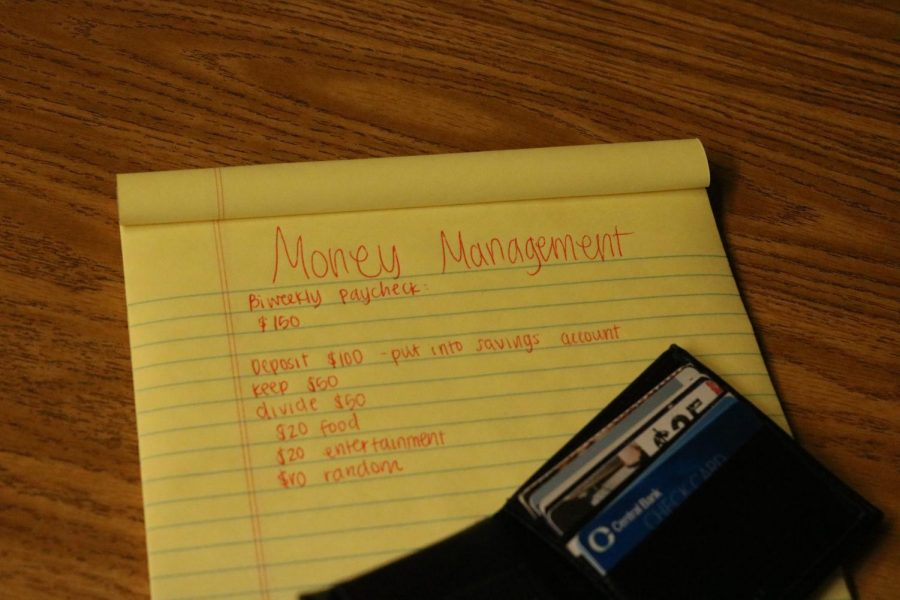 Managing money as a high school student can be a hard thing to learn how to do.