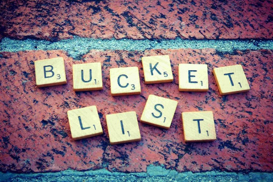 With thousands of ideas to put on a bucket list, what will yours be?
