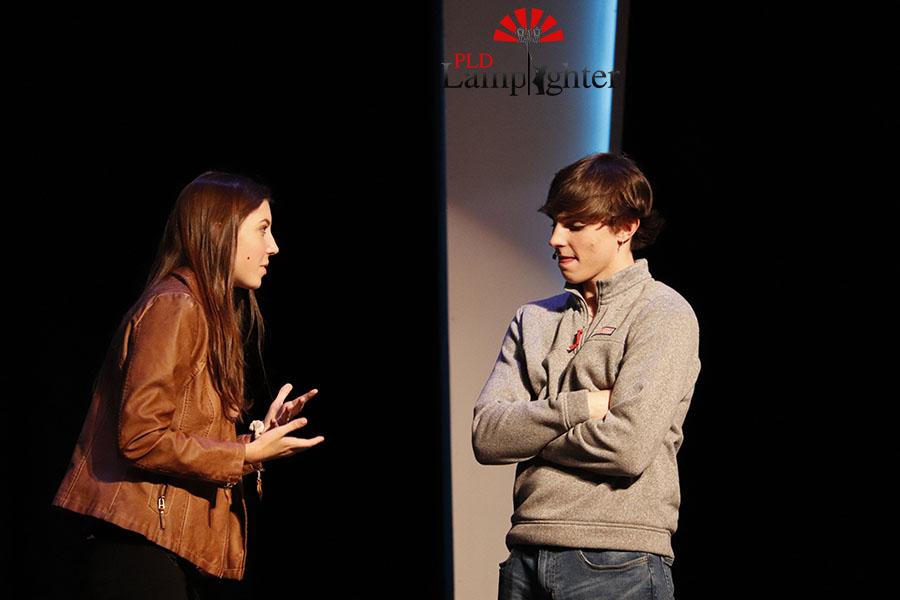 Adam (Parker Noe) finds out that Ellie (Camille Radhakrishnan) likes him too after bringing Fletcher (Jake Thomas) back home.