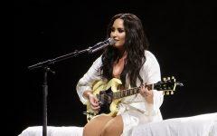 Demi Lovato Makes A Tearful Comeback