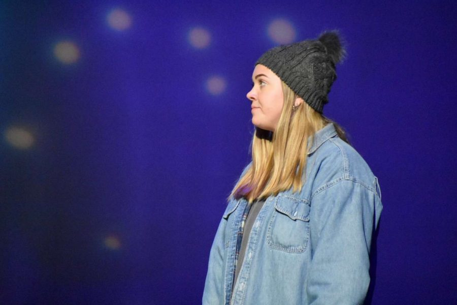 Savanna Montgomery as Marci in PLDs Production of Almost Maine.