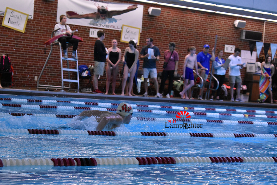 Dunbar swimmer pulled out a win in the butterfly competition