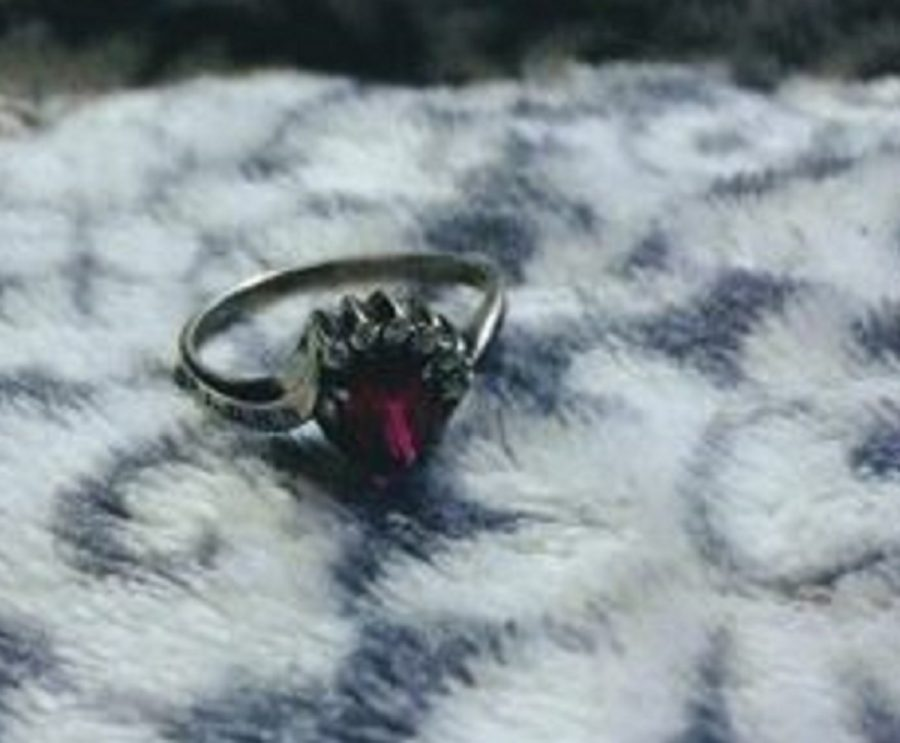 Dunbar graduate Vanecia Dawson shared a picture of the ring retrieved after being lost for 10 years.