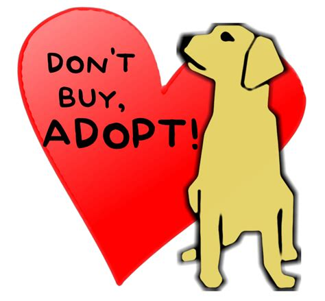 Many support the notion that adopting pets is preferable to buying from breeders and possibly supporting puppy mills.