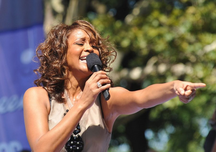 Whitney Houston was recently inducted into the Rock and Roll Hall of Fame.