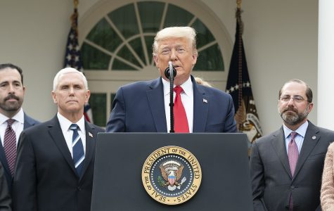 President Trump holds a press conference about the ongoing coronavirus crisis.