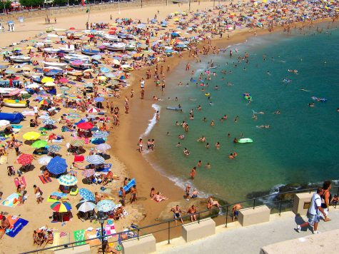 Beaches begin to close which cancel many vacations.
