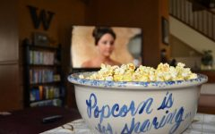 Rather than spend money on movie theater snacks, many students are choosing to stream movies from home.