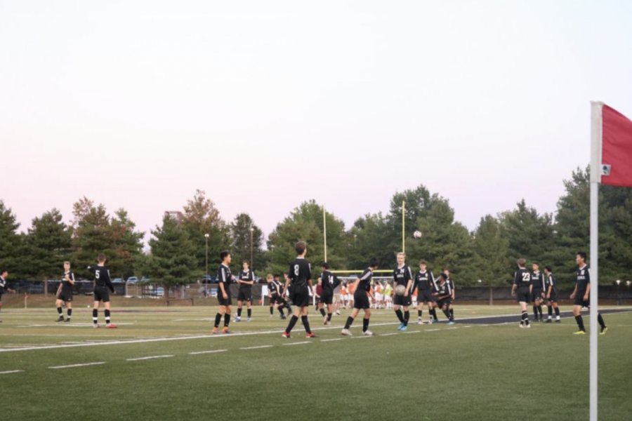 Soon we may be able to see sports such as soccer being played again during the school year.