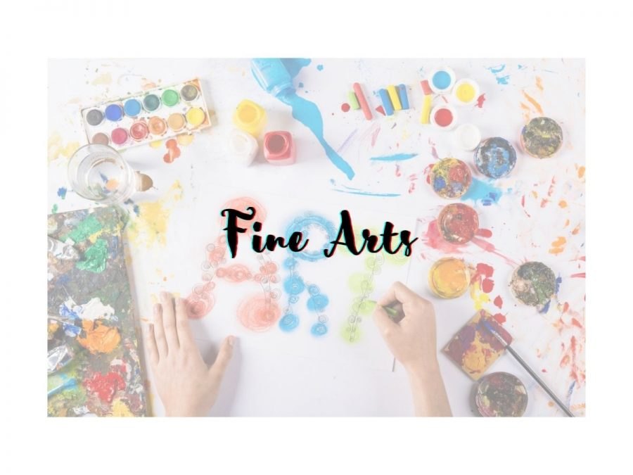 Students+in+fine+arts+need+in+class+instruction+to+hone+their+craft.