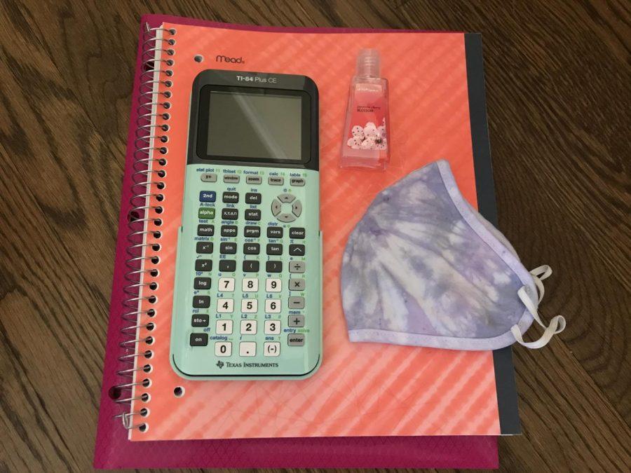 School supplies for 2020 school year.