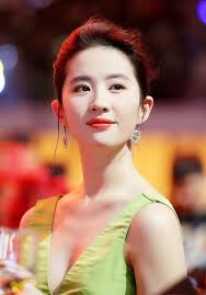 Actress Liu Yifei who plays the protagonist,