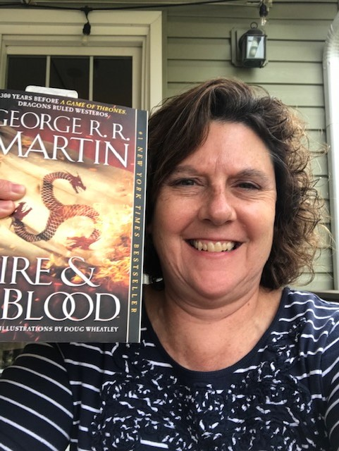 Fans of Game of Thrones will enjoy MSTC Director Ms. Karen Young's current read, Fire and Blood by George R.R. Martin.